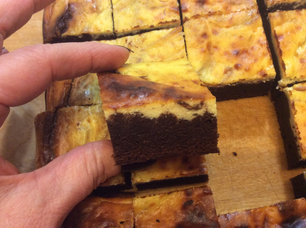 BROWNIES CON RICOTTA (2/6)